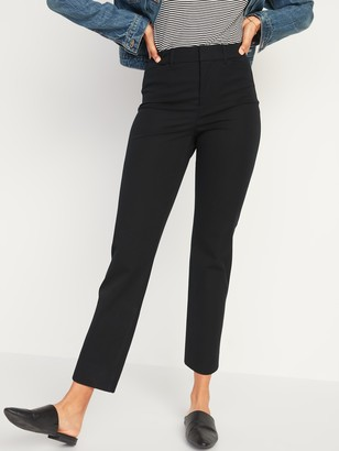 Old Navy High-Waisted Pixie Straight-Leg Ankle Pants for Women