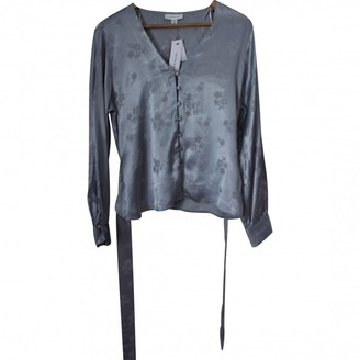 Topshop Tophop Blue Top for Women