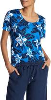Tommy Bahama Olympias Blooms Linen Tee