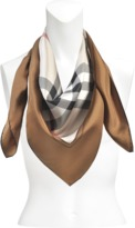 Burberry Horseferry Check silk square 90x90 cm