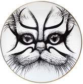 Rory Dobner Kabuki Cat Fine Bone China Fruit Plate