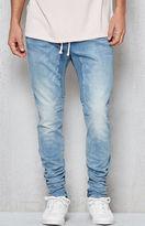 PacSun Drop Skinny Indigo Blue Denim Jogger Pants