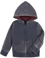 Andy & Evan Infant Boy's Burnout Zip Hoodie