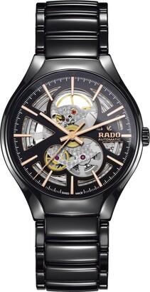 Rado True Automatic Open Heart Ceramic Watch, 40mm