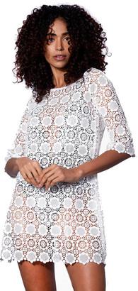 MC2 Saint Barth Short San Gallo Lace Dress
