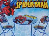 Spiderman The Amazing 3-Piece Folding Table & Chair Set