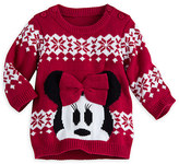 Disney Minnie Mouse Holiday Sweater for Baby