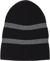 Barneys New York MEN'S STRIPE KNIT HAT
