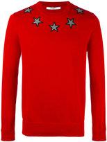 Givenchy star appliqué jumper - men - Cotton/Polyester - L