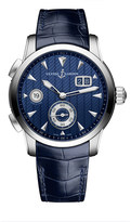 Ulysse Nardin 3343-126LE/93 Classic Dual Time stainless steel watch