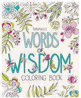 Eccolo Tamara Kate Words Of Wisdom Coloring Book