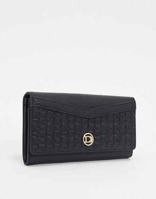 Dune kayes embossed purse