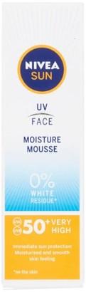 Nivea Sun Uv Face Moisture Mousse Spf50+ 75Ml