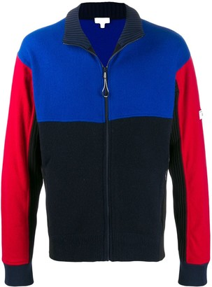 Kenzo Colour Block Knit Jacket