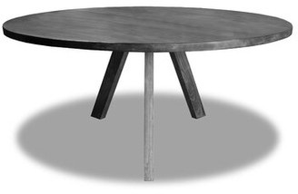 """Bronx Ivy Devito Solid Wood Dining Table Ivy Color: Gray, Size: 30"""" H x 48"""" L x 48"""" W"""