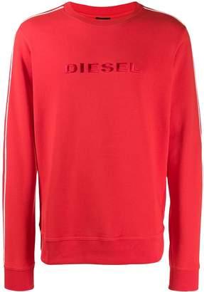 Diesel logo crew neck sweatshirt