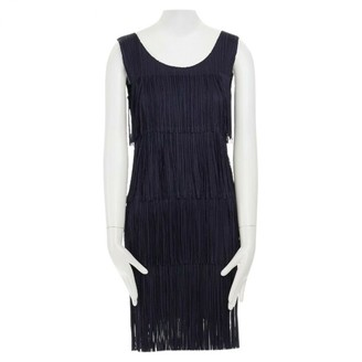 Issey Miyake Navy Synthetic Dresses