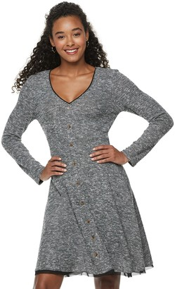 American Rag Juniors' Button Front Dress