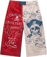 Richie House Big Boys Color ' Pirate's Life Print Shorts