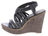 Henry Beguelin Leather Platform Wedges