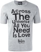 Comme des Garcons 'across' print T-shirt