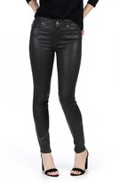 Paige Women's Transcend - Hoxton Coated High Waist Ankle Skinny Jeans