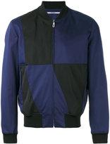 Kenzo block panel bomber jacket - men - Viscose/Spandex/Elastane/Acetate/Cotton - L