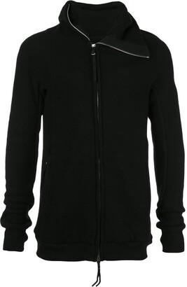 Boris Bidjan Saberi asymmetric hooded jacket