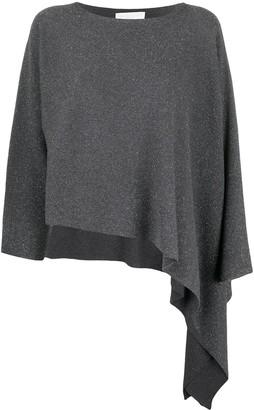 Fabiana Filippi asymmetrical knitted top