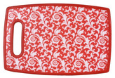 S/2 Red Cutting Boards, Small