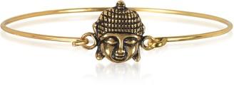 Alcozer & J Brass Buddha Bangle