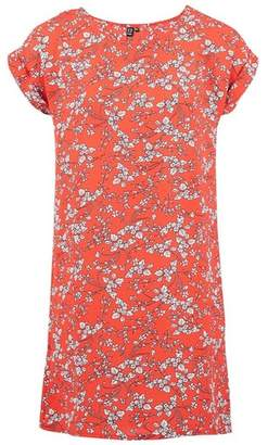 Dorothy Perkins Womens *Izabel London Red Ditsy Floral Print Shift Dress, Red