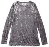 T2 Love Girl's Velour Tunic Top