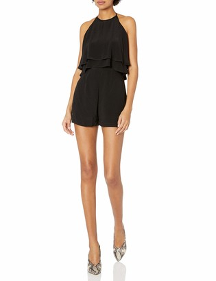 ASTR the Label Women's Bianca Ruffle Romper