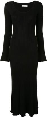 ANNA QUAN Mara side slit knitted dress