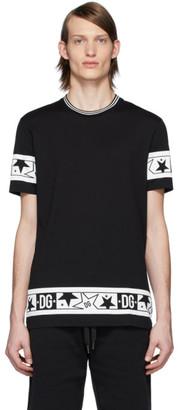 Dolce & Gabbana Black Stars T-Shirt