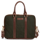 Men's United By Blue 'Sequoia' Organic Cotton Briefcase - Green