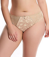 Elomi Morgan Lace-Trimmed Floral Brief Panty