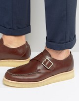 Clarks Monk Buckle Shoes