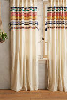 Anthropologie Tasseled Mera Curtain