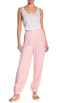 Onia Jodie Jacquard Geo High Waist Cover-Up Pants