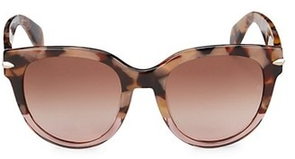Rag & Bone 54MM Round Sunglasses