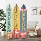 Bay Isle Home Soto Surfboard 3 Panel Room Divider Bay Isle Home