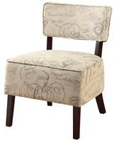 Hokku Designs Roxwell Slipper Chair