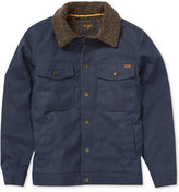 Billabong Men's Barlow Canvas Faux Sherpa lined Jacket