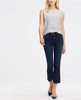 Ann Taylor Tall Kick Crop Jeans