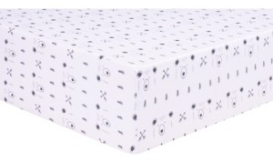 Trend Lab Peak a Bear Jersey Crib Sheet Bedding