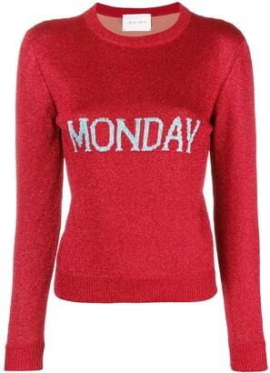 Alberta Ferretti Monday knit jumper