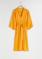 And other stories Belted Linen Kaftan