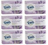 Tom's of Maine Natural Beauty Bar Soap With Raw Shea Butter, Lavender Tea Tree, 5 Ounce, 6 Count